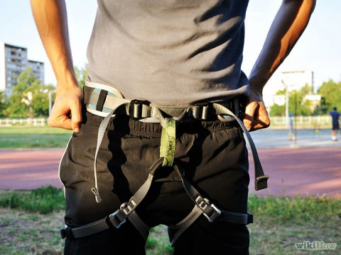 Learn to Use a Climbing Harness